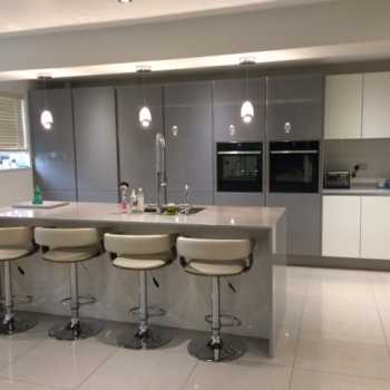 granite worktops in kitchen